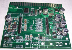 8 layer Military Circuit Board Assembly with Gold Finger, Pcb Assembly Quote